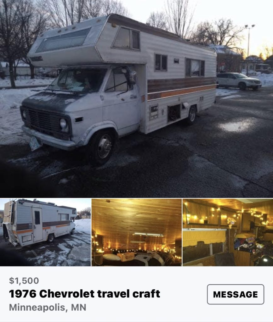 Betsy the motorhome